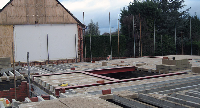 irst floor block and beam floor construction